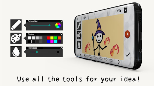 Stickman: draw animation, creator & maker, drawing  screenshots 7