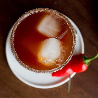 Smoky Michelada Beer Cocktail