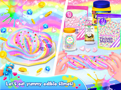Unicorn Chef: Slime DIY Cooking Games for Girls - náhled