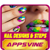 Nail Design Art step by step