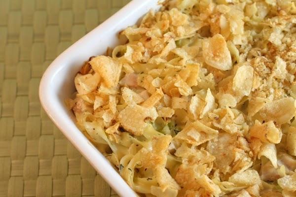 Not My Mom's Tuna Noodle Casserole Recipe