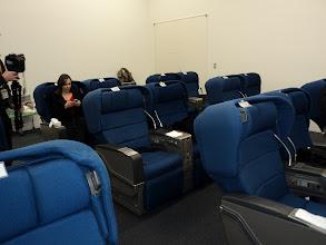 Photo: ANA Cabin Attendant Academy-Mock-ups seats