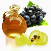Chăm sóc da với dầu hạt nho
