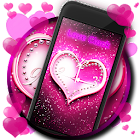 Clock Love Wallpaper icon