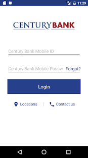 Century Bank Mobile - náhled