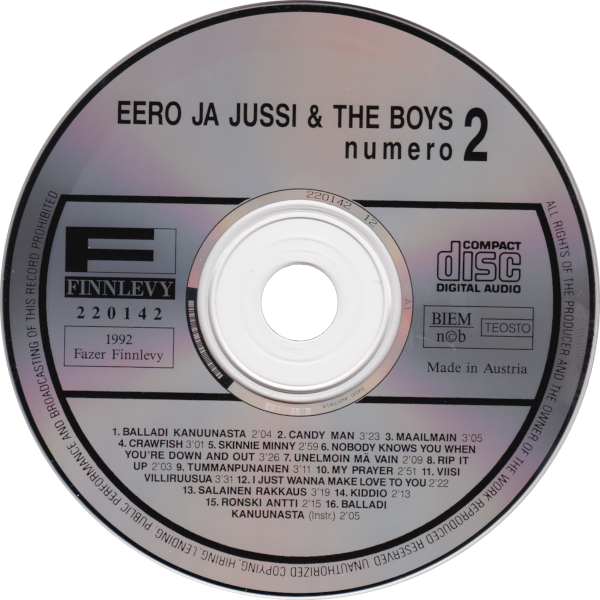 Numero 2 - cd