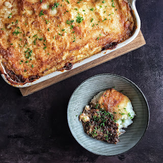 Lentil Shepherd's Pie with Cauliflower Mash