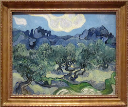 Photo: Vincent VAN GOGH - The olive trees