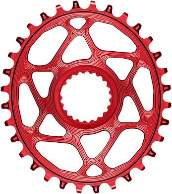 Absolute Black Oval Direct Mount Chainring - Shimano Direct Mount, 3mm Offset, Requires Hyperglide+ Chain alternate image 4