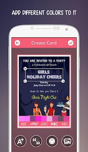 Kitty party invitations android apps on google play kitty party invitations screenshot thumbnail stopboris Image collections