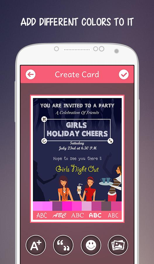 Doc436325 Kitty Party Invitation Cards Ladies Kitty Party – Party Invitation App
