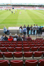 Photo: 18/04/14 v Swindon Town (Football League Division One played at Sixfields, Northampton Town FC) 1-2 - contributed by Martin Wray