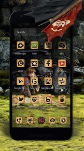 How to Train Your Dragon Adventure Launcher - náhled