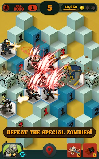 Zombie Sweeper: Minesweeper Action Puzzle 1.1.015 screenshots 11