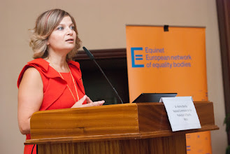 Photo: Romina Bartolo from the National Commission for the Promotion of Equality  (Malta)