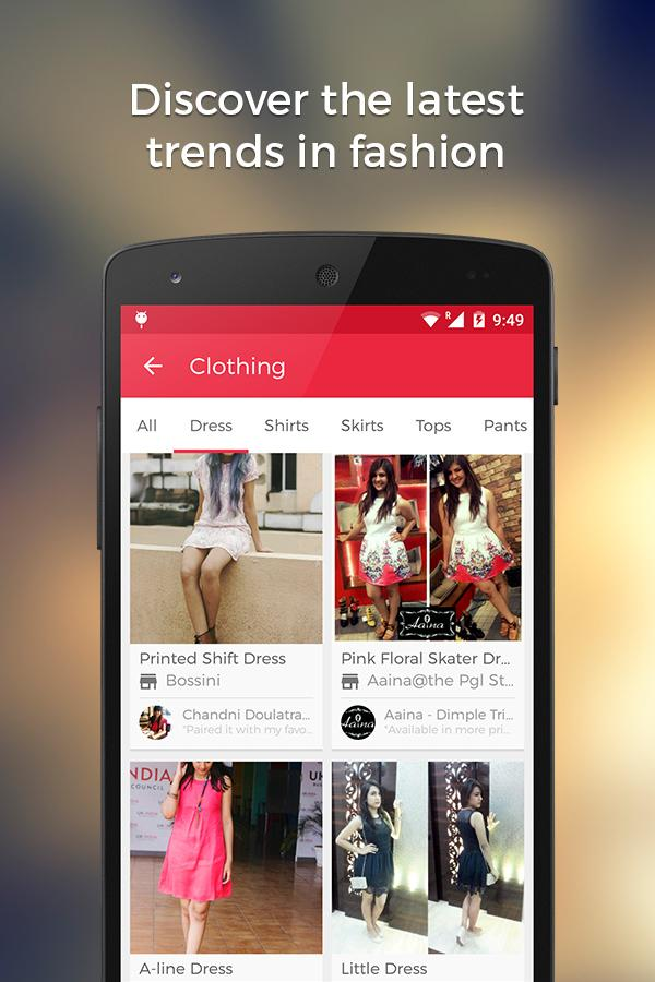 Wooplr - Fashion Shopping App - screenshot