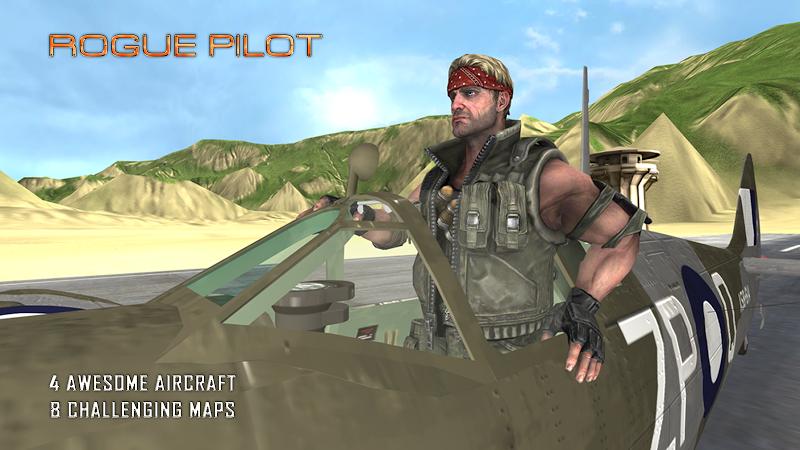 Скриншот Rogue Pilot