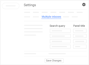 Set up multiple inboxes