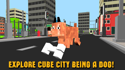 Cube World: Dog Simulator 3D