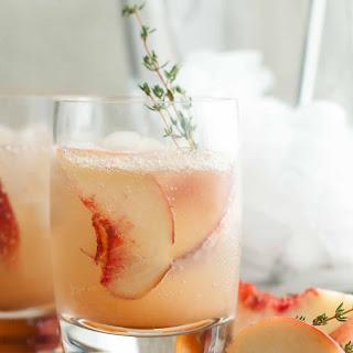 Stone Fruit Thyme Shrub Soda.