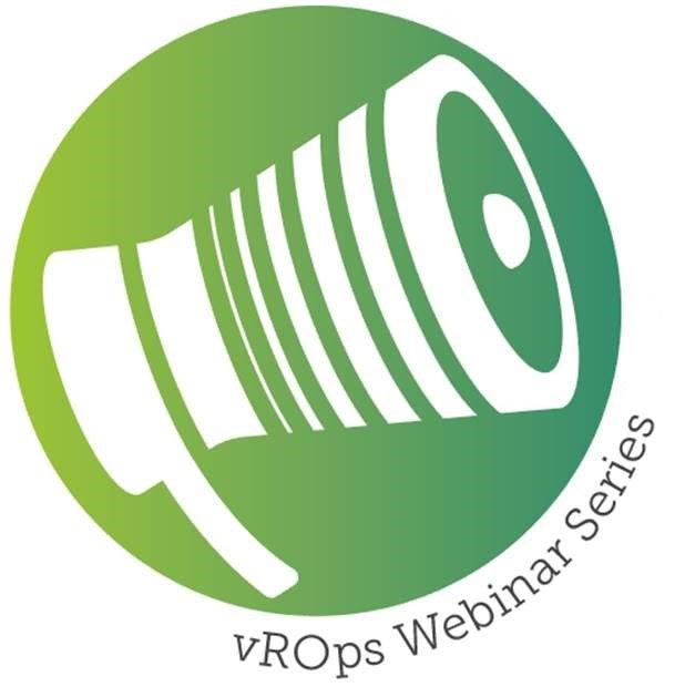 vROps Webinar Series