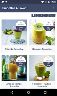 Liebherr Smoothies & Ice – Miniaturansicht des Screenshots