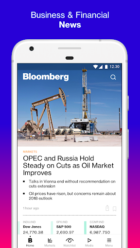 Bloomberg: Market & Financial News screenshot 1