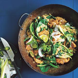 Lemongrass Coconut Chicken Stir-Fry Recipe