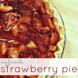 My Favorite Strawberry Pie