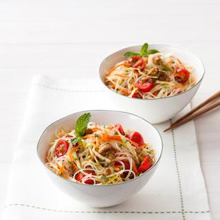 Spicy Thai Noodle Salad.