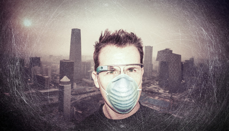 Photo: Glass in Dystopian China -- This photo is the only one in the album NOT taken with Google Glass, lest you be confused...