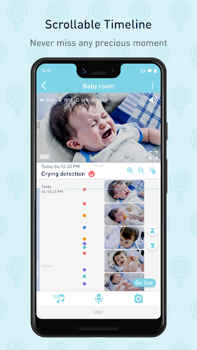 Lollipop - Smart baby monitor 3.3.30 screenshots 1