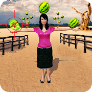 Expert Watermelon Target Shooting Challenge