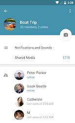 Telegram APK screenshot thumbnail 13