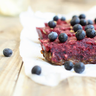 Blueberry Slice from Simple & Light Desserts.