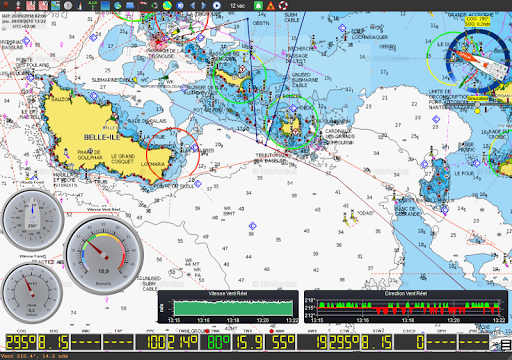 qtVlm Navigation and Weather Routing 5.9 screenshots 10