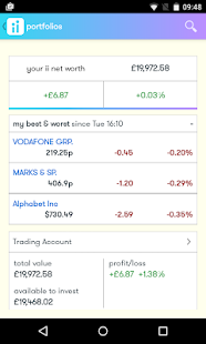 interactive investor Beta- screenshot thumbnail