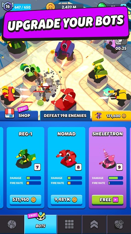 Merge Tower Bots – (Android Games) — AppAgg