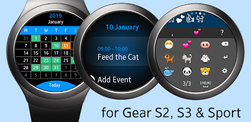 Widget Calendario Samsung.Calendar Gear Google Calendar For Samsung Watch Apps