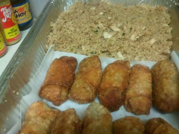 Shrimp And Pork Eggrolls
