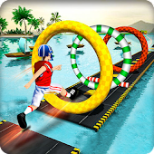 Water Run Stunt Mania
