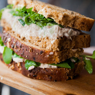 Awesome Tuna Mayo Sandwich.