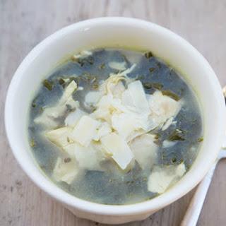 Lemon Chicken & Kale Soup