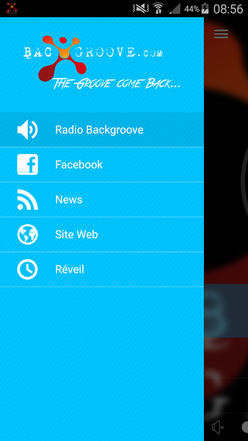 Radio BackGroove- screenshot