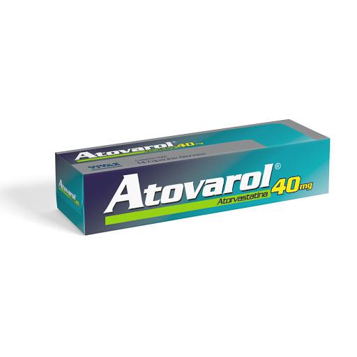 Atorvastatina Atovarol 40Mg X 14 Capsulas Vivax 40mg X 14 Capsulas