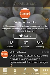 Vinícola Sinuelo- screenshot thumbnail