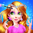 👸👸Princess Makeup Salon 6 - Magic Fashion Beauty logo