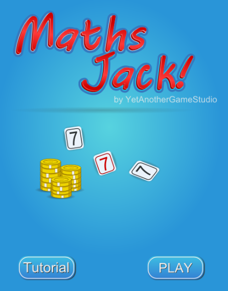 MathsJack- screenshot