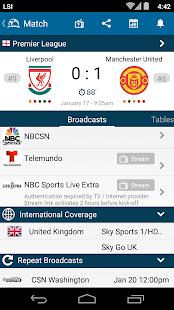Live Soccer TV Schedules Guide- screenshot thumbnail ...