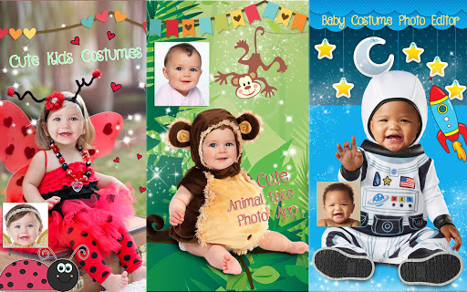 Cute Baby Photo Montage App ud83dudc76 Costume for Kids 1.1 screenshots 10